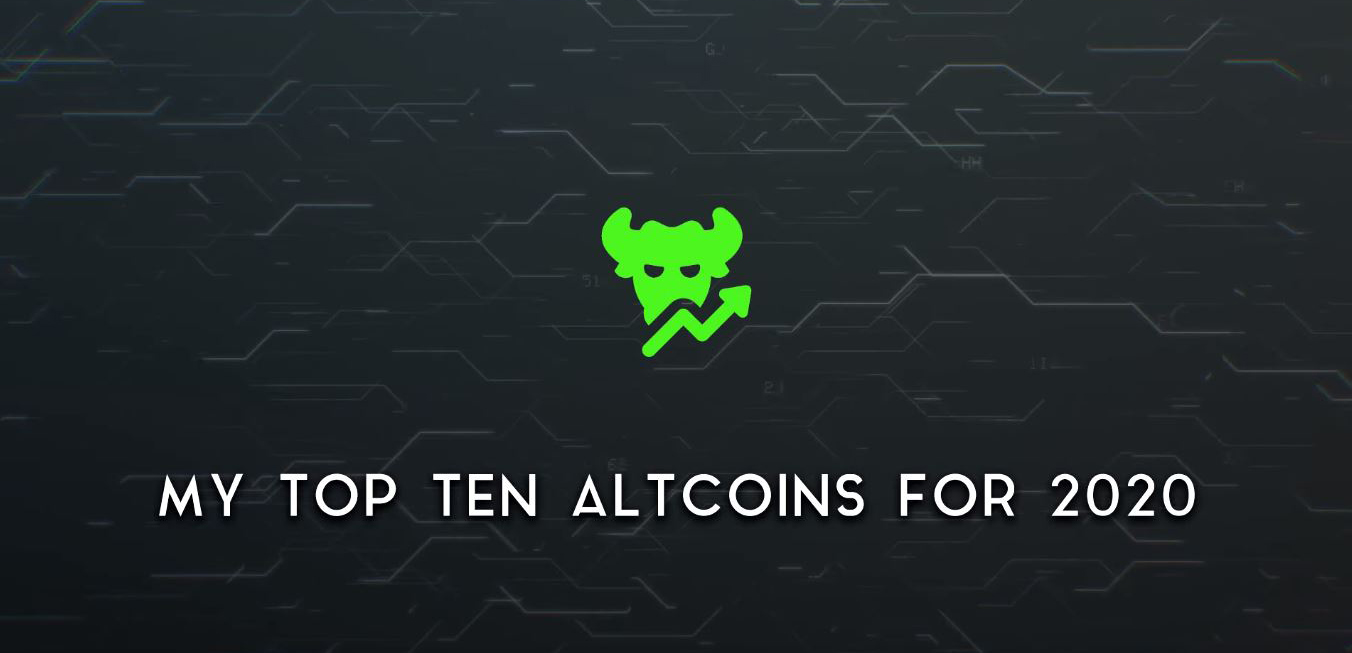 Top 10 cryptocurrencies voor 2020