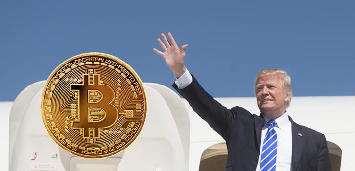 Trump tweet over Bitcoin Prestatie ontgrendeld zegt Coinbase CEO